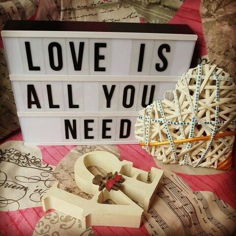Love my kmart lightbox here's today wise words