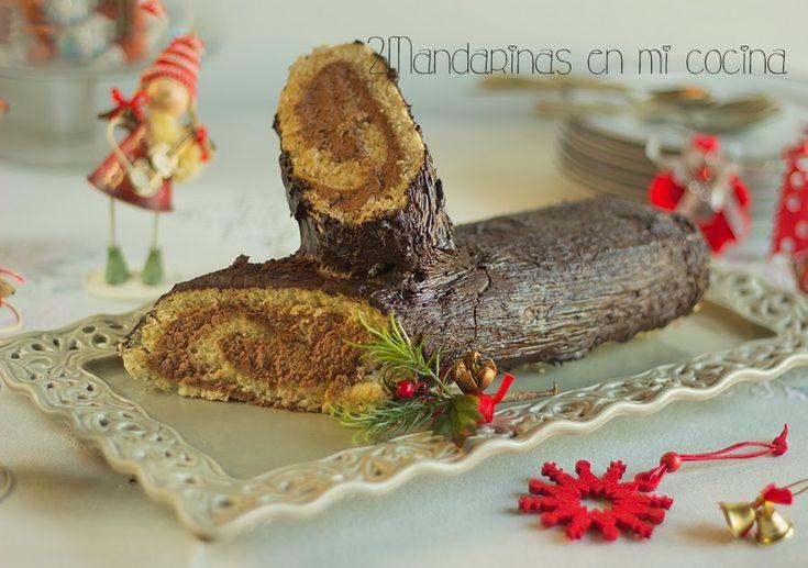 2Mandarinas en mi cocina: Tronco de navidad