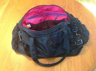 Lululemon Victory Duffle Bag Gym Tote School Yoga Satchel 119 On Ebay