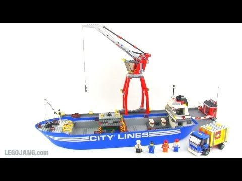 LEGO City 4430 Fire Transporter review! - YouTube