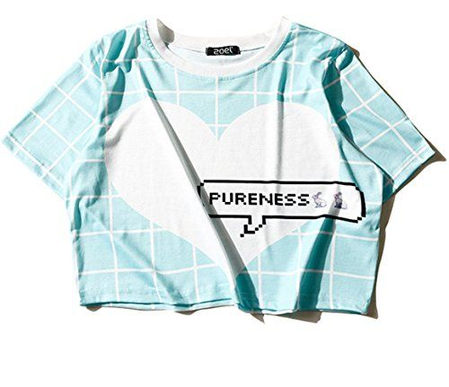 (シーファニー)Cfanny レディース Tシャツ ショット丈 チェック 半袖 プリント T3657 藍 Cfanny https://www.amazon.co.jp/dp/B06XDLXTNF/ref=cm_sw_r_pi_dp_x_PVj3yb3G2K6YC