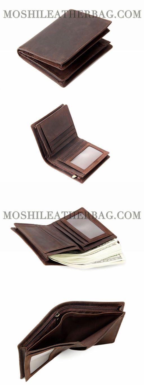 Handmade Custom Wholesale <b>Genuine Leather Wallet</b> Money ...