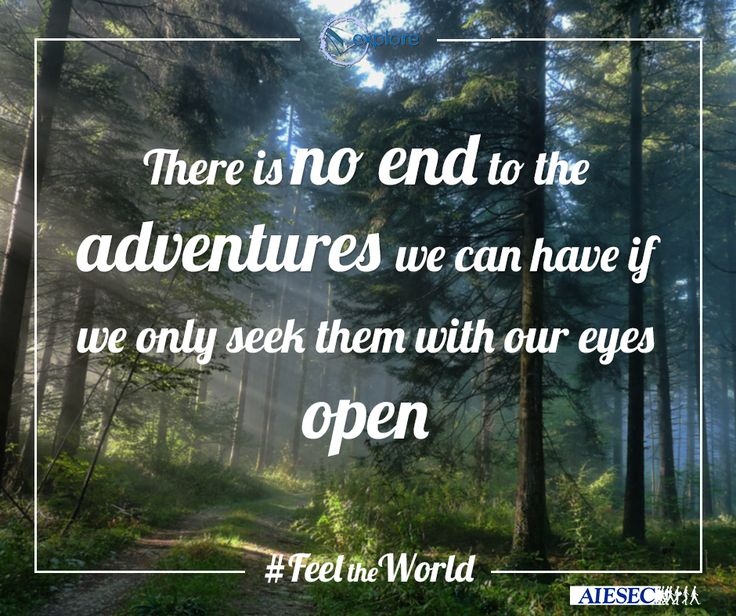 Are you ready to explore? #FeeltheWorld