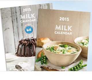 ** FREE 2015 Milk Calendars  - Available starting this weekend