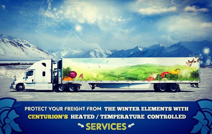 CANADA / USA Trucking >>> Temperature Controlled Services with CENTURION TRUCKING INC Contact Us Today for any FULL TRUCKLOAD 1.888.325.1486 - 24/7 dispatch@centuriontrucking.com #truckload #freighttransport #heatedvans #warehouse
