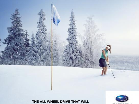 Quebec Subaru Dealers' Association:  Forget winter, 2