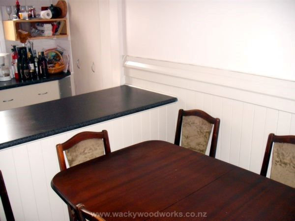 Paint the Kitchen & Dinning Room http://www.wackywoodworks.co.nz/paint_kitchen.php