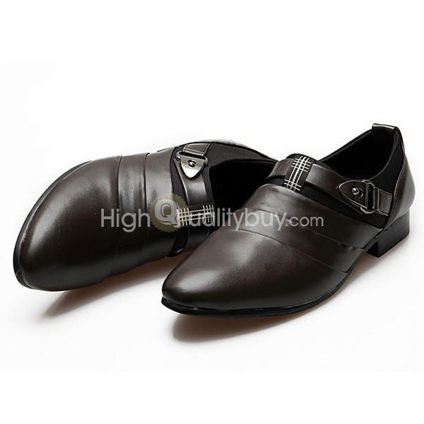 Toe shoes _$45.60_ Fashionable Pointed Toe Design Leather Shoes for Men