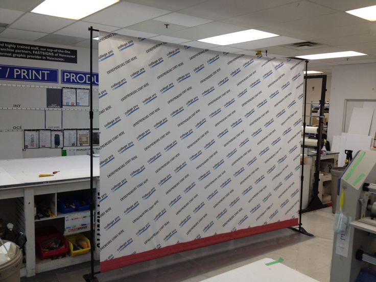 Photowall printed and assembled by Fastsigns Vancouver for College Pro. http://www.fastsigns.com/653-vancouver-bc-canada