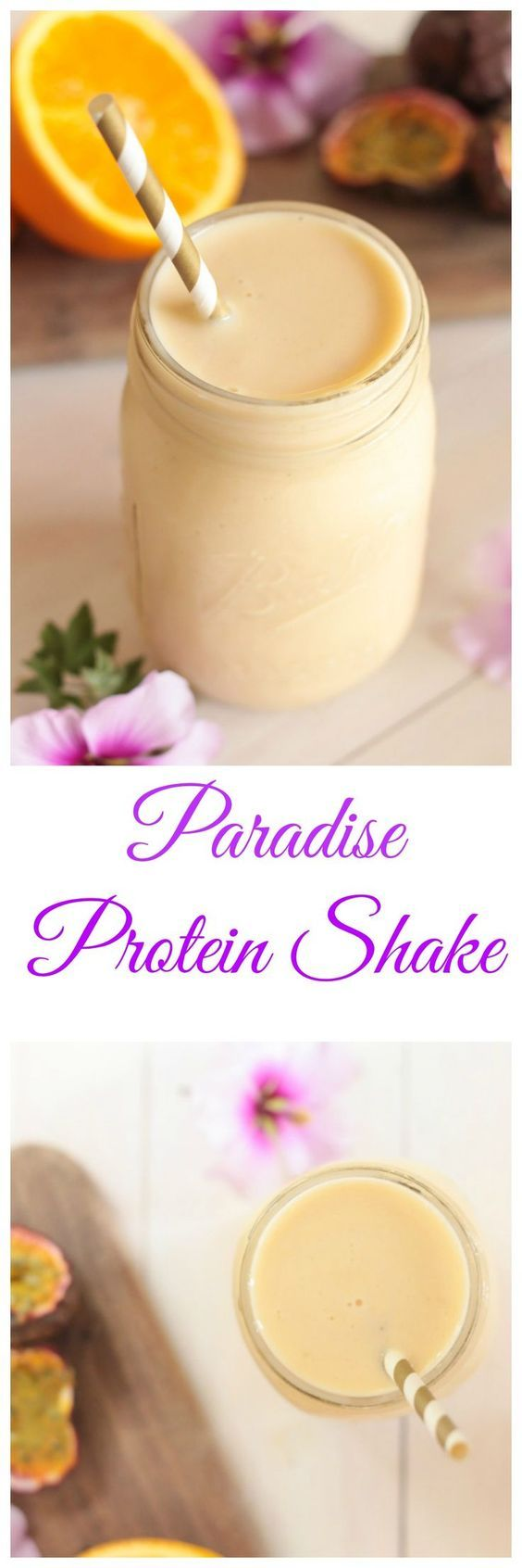 Try a yummy, tropical Paradise Protein Shake!