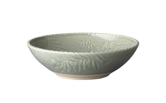 Pasta Bowl / Green bowl / Handmade Ceramics/ Dishwasher safe/ Made by Sthal and available in our Winchester shop