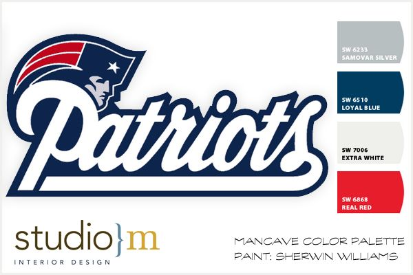New England Patriots | Mancave | Colors