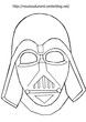 Masque Dark Vador à imprimer dessiné par nounoudunord