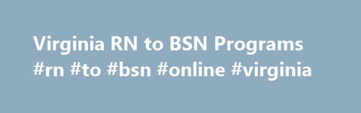 Online Nursing Schools In Va