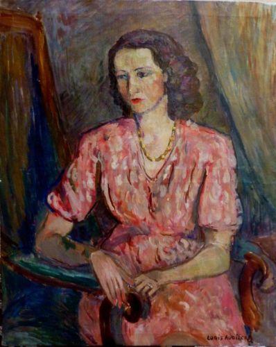 louis audibert 1881 1983 ancien tableau portrait femme fauvisme paintings pinterest. Black Bedroom Furniture Sets. Home Design Ideas