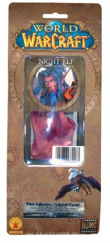 World of Warcraft Night Elf Latex Prosthetic Kit