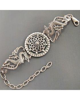 Серебряные украшения :: Серебряные цепочки и браслеты :: Браслеты :: Серебряный браслет  0080018120 