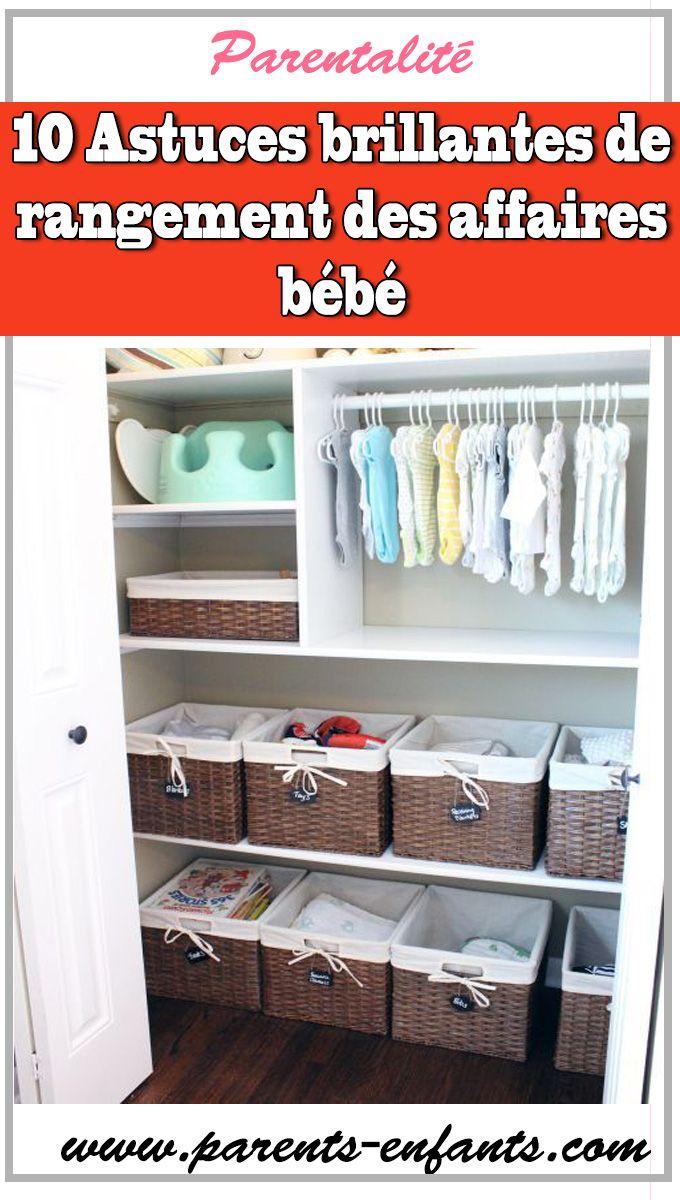 10 Astuces Brillantes De Rangement Des Affaires Bebe Ranger Vetement Bebe Organiser Vetement Bebe Organiser Chambre Bebe Business Storage Baby Storage Storage