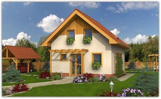 Budgetwoning Focul Viu | Houten huis bouwen