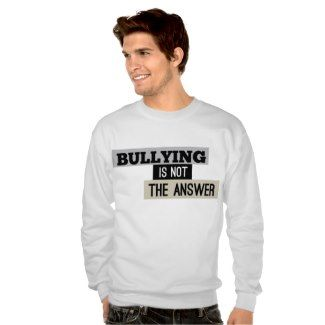Welcome to the Bullying is not the Answer store! Check out our awesome, fully customizable product lines and help stomp out bullying by showing the world that you too believe in the power of civility over hatred. We have created a series of designs in support of celebrities that have refused to give in to …