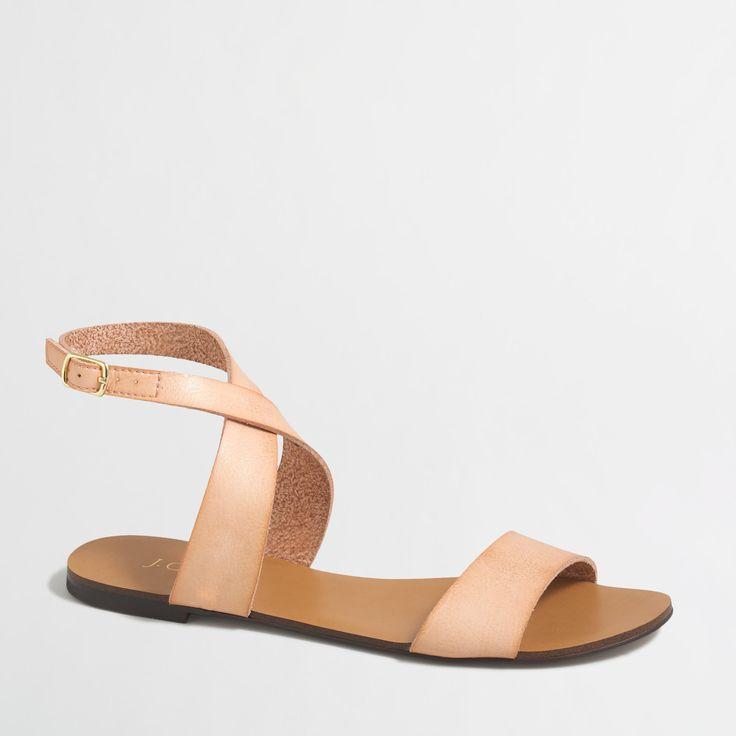 ankle-strap sandle / j.crew factory