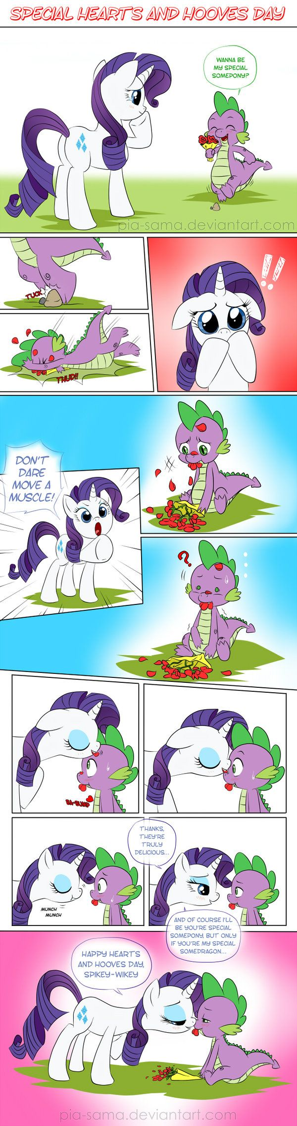 Special Hearts and Hooves Day by *Pia-sama on deviantART