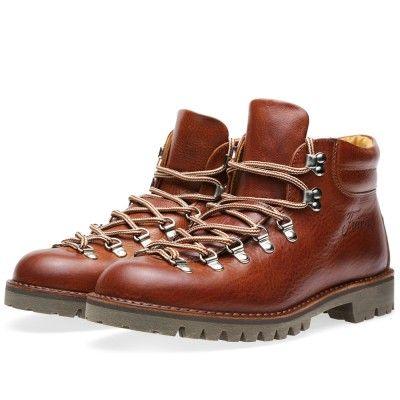 Fracap M127 Roccia Vibram Sole Scarponcino Boot (Tabacco & Dark Brown)