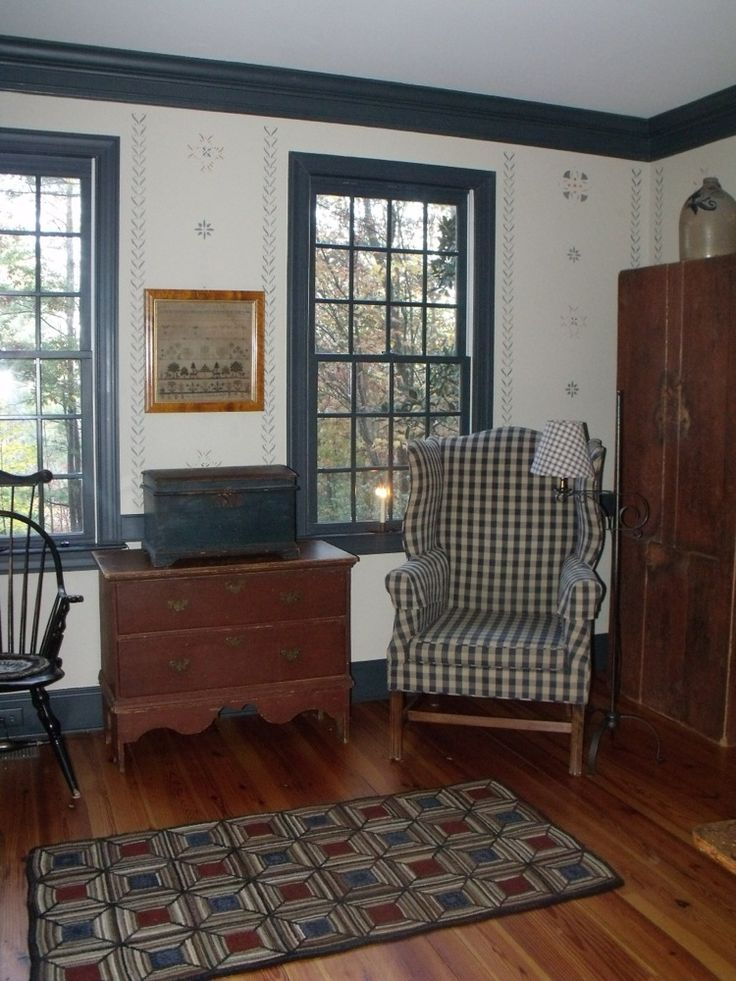 The 1800 House Antiques | Colonial Decorating