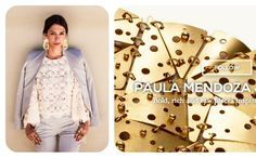 Paula Mendoza, orfebrería colombiana de fama mundialModa Preview International