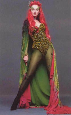 Alternate Poison Ivy Costume (read: less revealing)  Uma Thurman