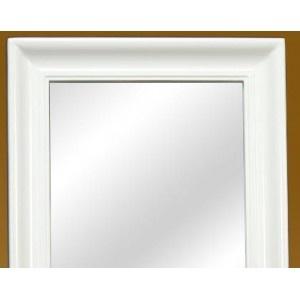 Las 25 mejores ideas sobre espejo de pie en pinterest - Espejo marco blanco ...