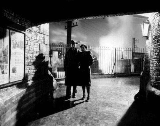 Celia Johnson and Trevor Howard in Brief Encounter (David Lean, 1945)