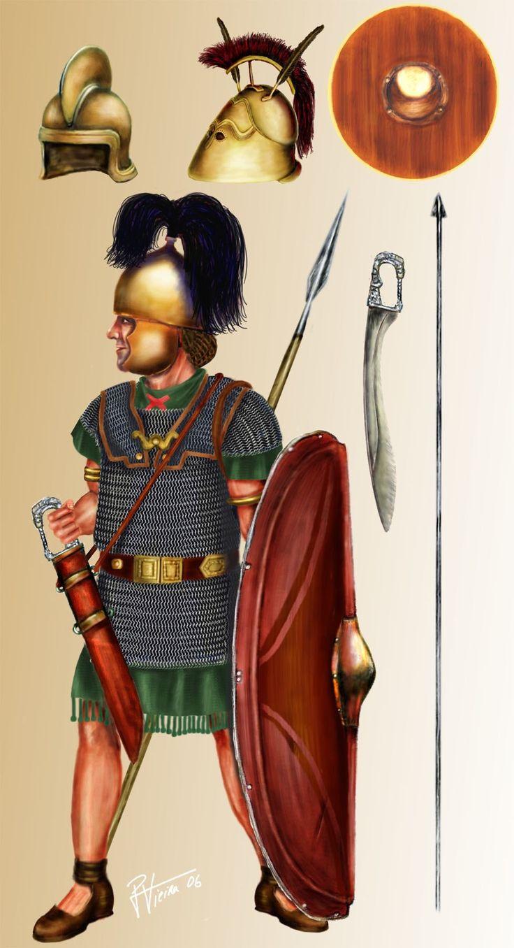 Иберийский легионер на службе Квинта Сертория