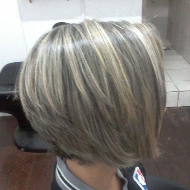 Mechas Platinadas Corte Sigam Taisrostirola Peinados
