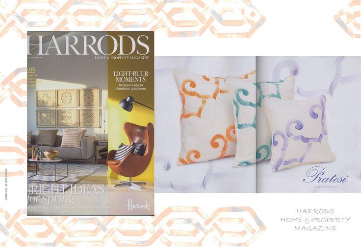 HARRODS Magazine - 2015   #Harrods #Magazine #Collection #Interior #Design #Architecture #Bed #Pillows #Linens #Home #Decor #Luxury
