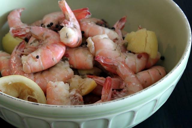 Beer shrimp broil