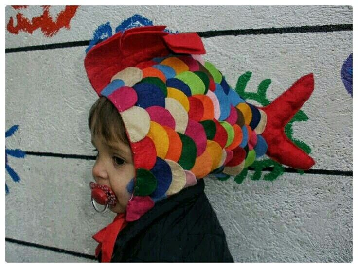 Fish costume Disfraz de pez
