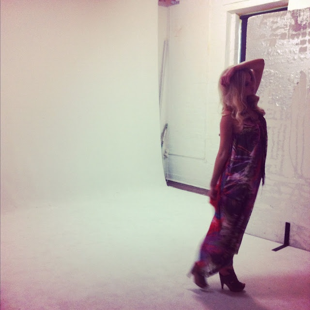 New collection photo shoot