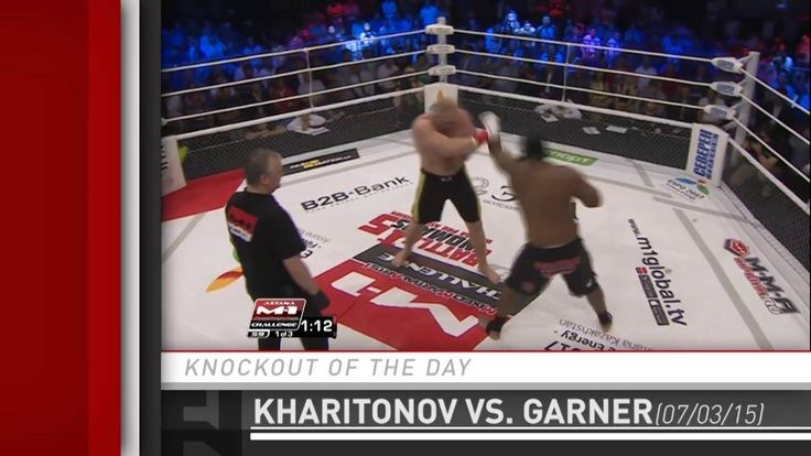 awesome Knockout of the Day: Sergei Kharitonov Stops Kenny Garner at M-1 Challenge 59