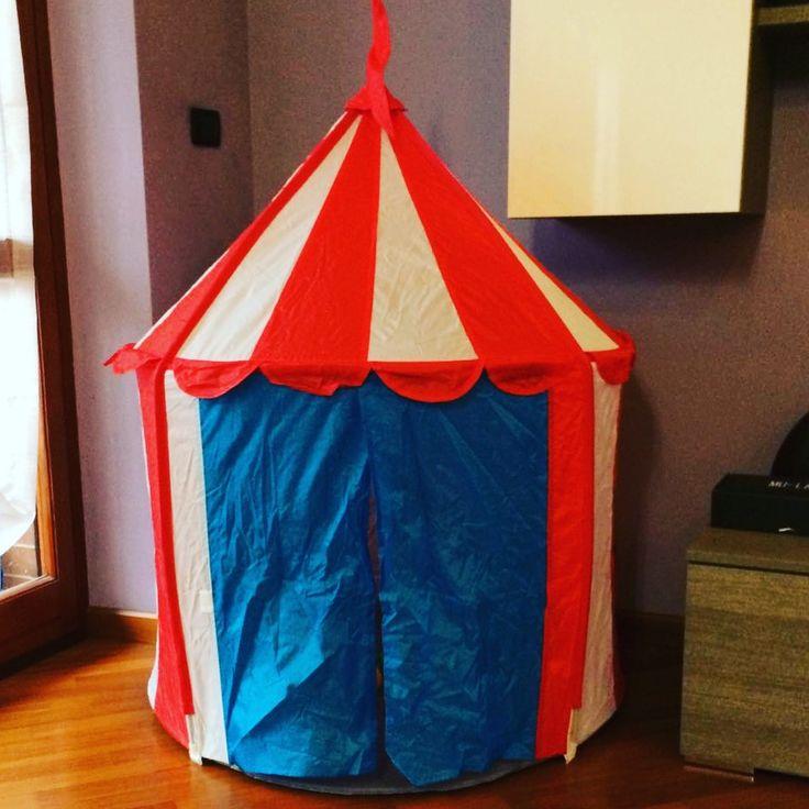 Domenica pomeriggio da Ikea...la mia principessa ha trovato casa 😍 #ikea #bambini #ikeababy #casa #circo #circus #cirkustält #cirkustältchildren #children #kids #toy #play #domenica #domenicapomeriggio #sunday #sundayafternoon #casa #home
