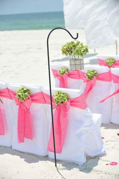Big Day Weddings, Beach Weddings, Flamingo Pink Beach Setup, Flamingo Pink Color Scheme, Flamingo Pink Wedding Theme, pink beach wedding, pink beach wedding setup