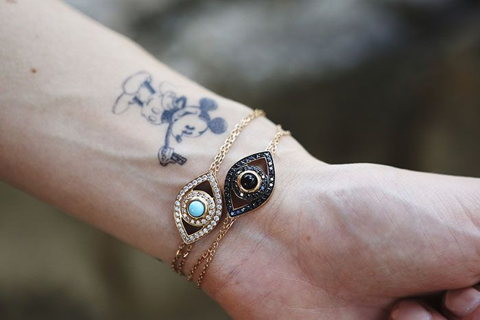 Chiara Ferragni (The Blonde Salad) mickey mouse tattoo on ...