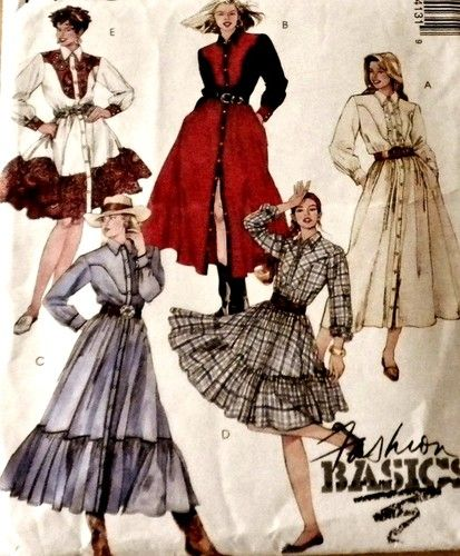 Old Fashioned Western Wear Sewing Patterns Pattern - Easy Scarf ...