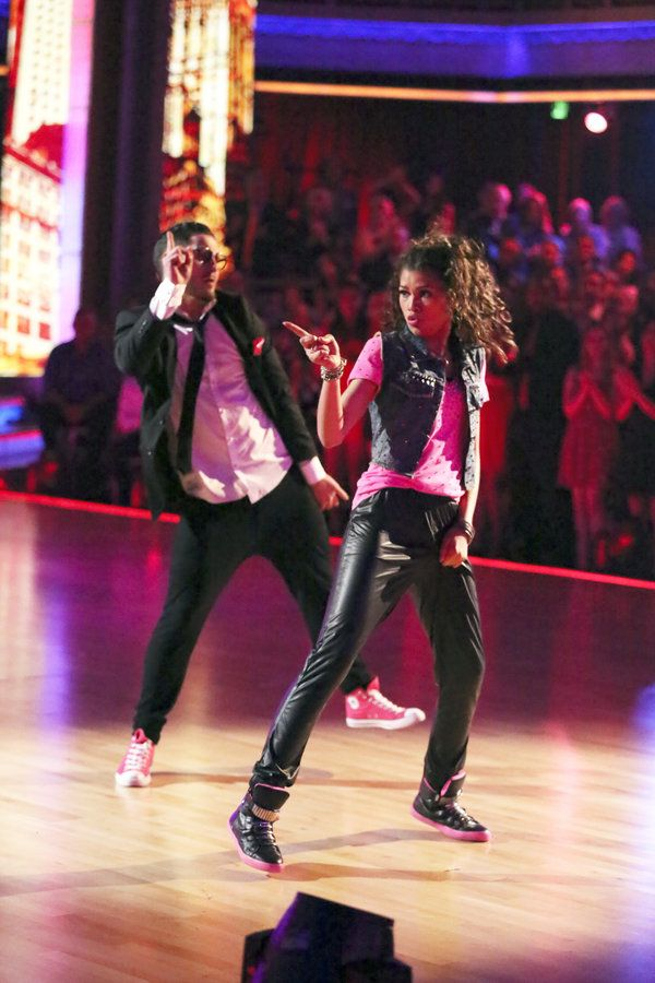Dancing with the Stars Week 9 Val C and Zendaya
