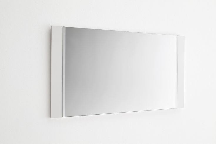 Wandspiegel Nemo Hochglanz weiß lackiert passend zum Garderobenprogramm Nemo 1 x Wandspiegel hoch und quer einsetzbar Material: MDF-Platte Lack weiß... #flur #garderobe #spiegel