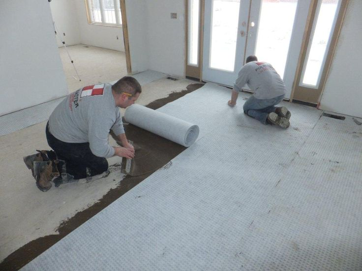 17 Best Images About Superseal S Tile Subfloor Membrane On