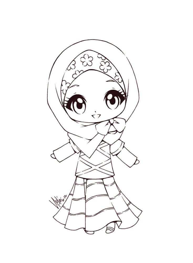 Cute Little Muslimah