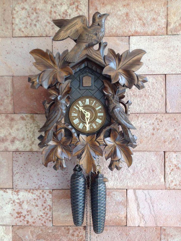 Relógio Cuco Germânico Clássico Modelo Grande - R$ 1.500,00 no MercadoLivre