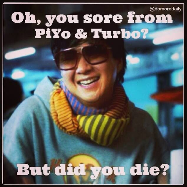 PiYo is my favorite! So glad to be doing it.