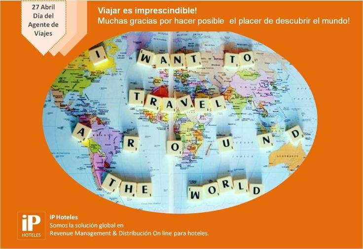 Viajar es imprescindible!   !Muchas gracias por hacer posible el placer de descubrir el mundo¡